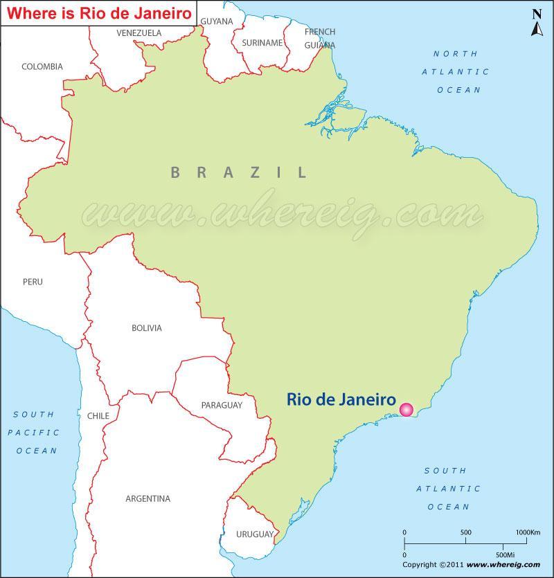 Где находится рио де жанейро в какой